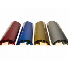 Изделия из алюминия, покрашенные порошковыми красками